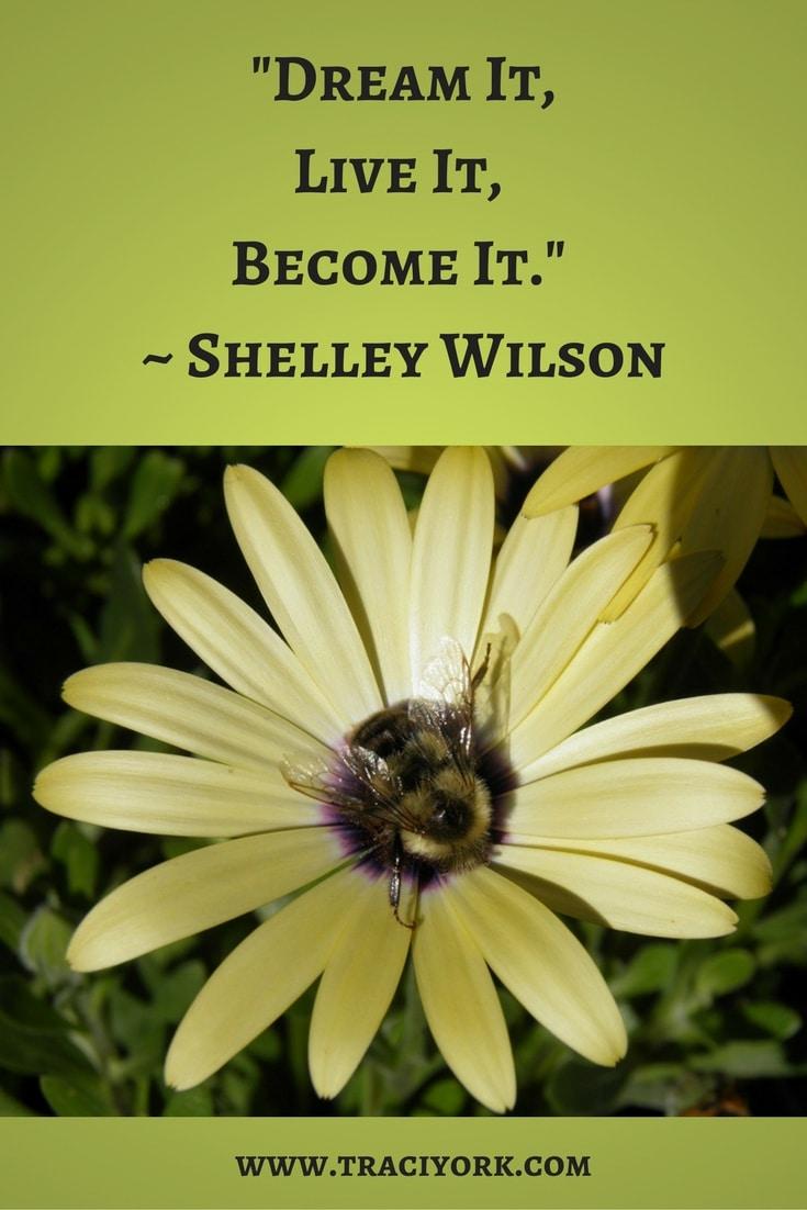 Quote Challenge Week 2 Live it Shelley Wilson