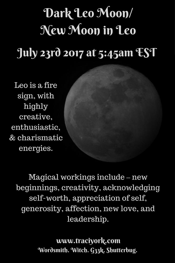 July 2017 Dark Leo Moon