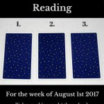 August 1 2017 Tarot, Blog Graphic