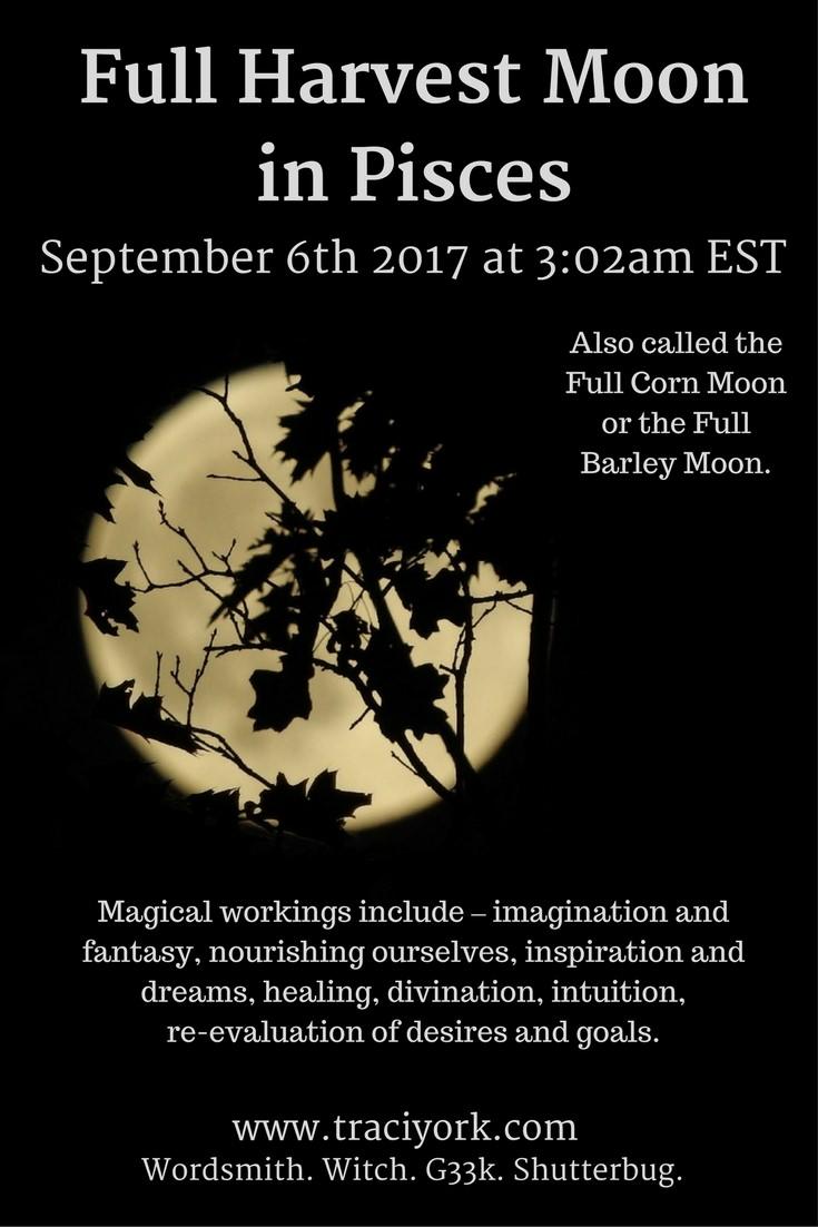 Harvest Moon October 2017 Big