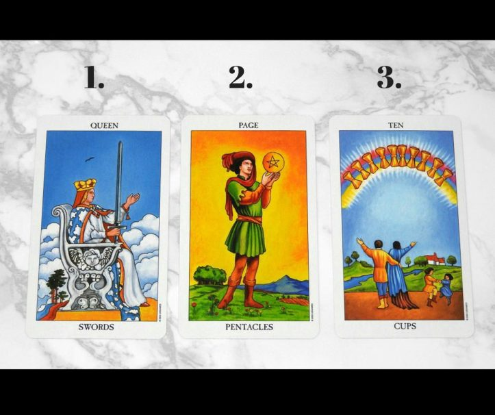 Free Tarot Card Reading for the Week of September 12th 2017, Front