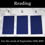 September 19th 2017 FREE Tarot Card Reading