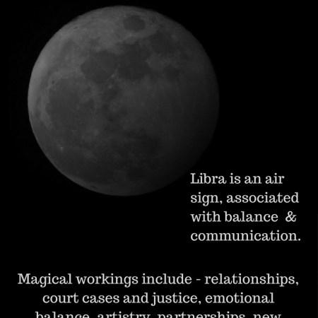 October 2017 Dark Libra Moon_New Moon in Libra