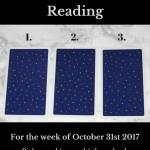 October 31st 2017 Tarot, Blog Graphic