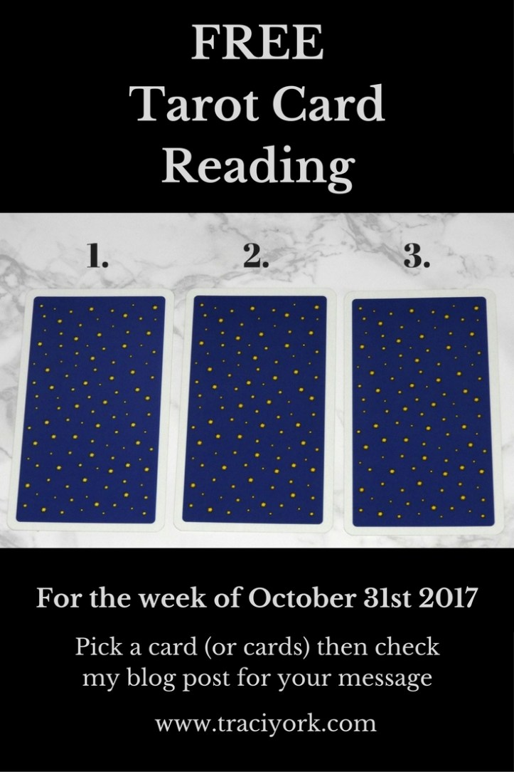 October 31st 2017 Tarot, Blog Graphic