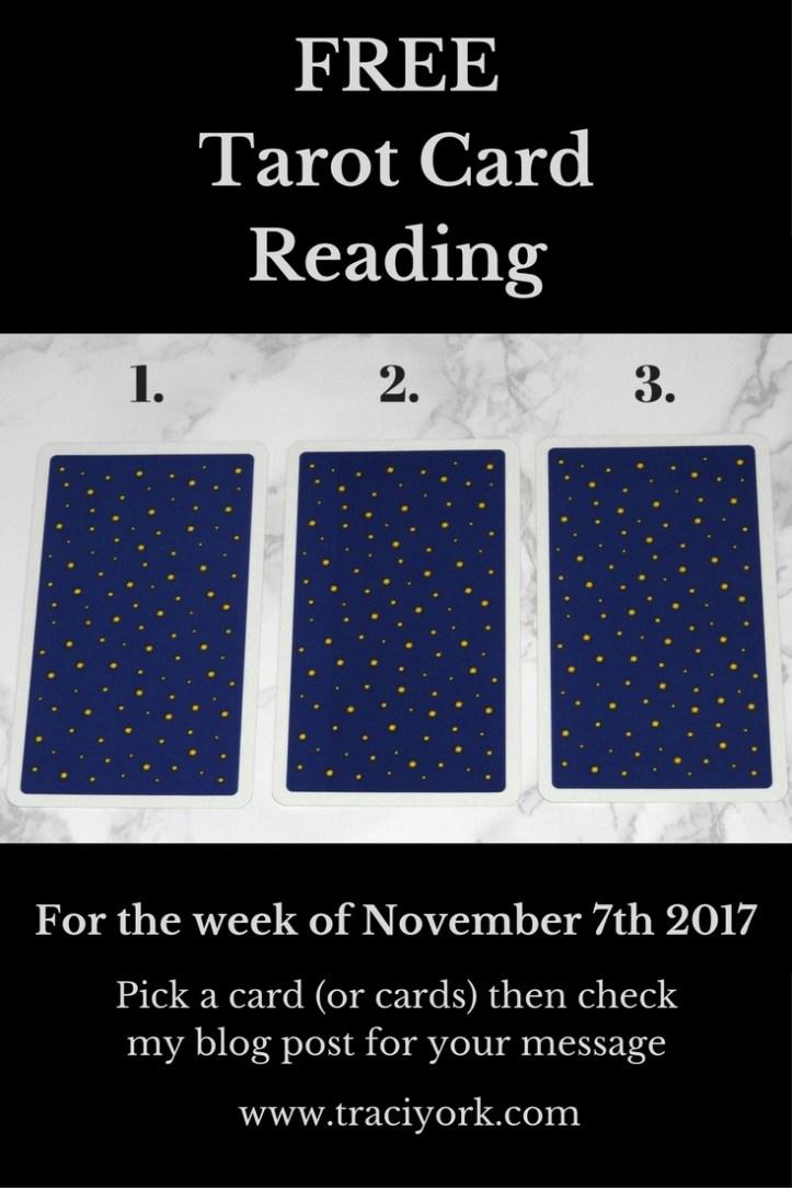 November 7th 2017 Tarot