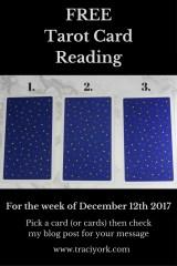 December 12th 2017 Tarot