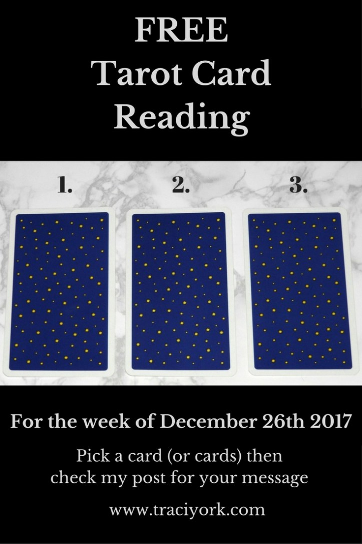 December 26th 2017 Tarot, blog graphic