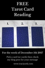 December 5th 2017 Tarot Blog Graphic