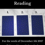 December 5th 2017 Tarot Blog Graphic