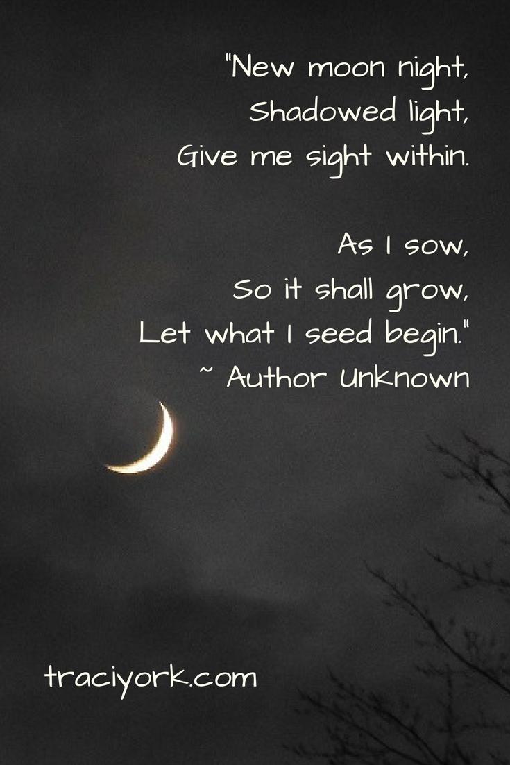 New Moon on Monday Quoto