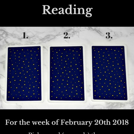 February 20th 2018 Tarot