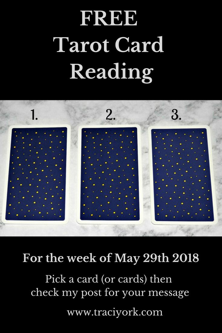May 29th 2018 Tarot