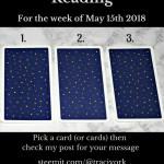May 15th 2018 Tarot