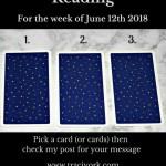 June 5th 2018 Tarot blog graphic