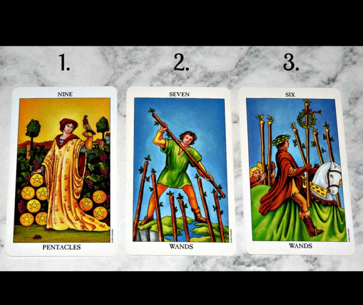 July 17th 2018 Tarot Front