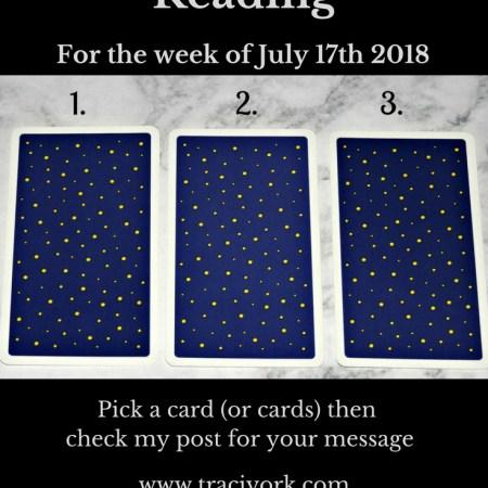 July 17th 2018 Tarot blog graphic