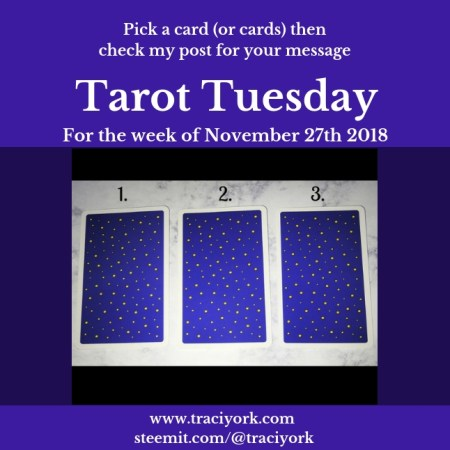 November 27 2018 Tarot Tuesday blog thumbnail