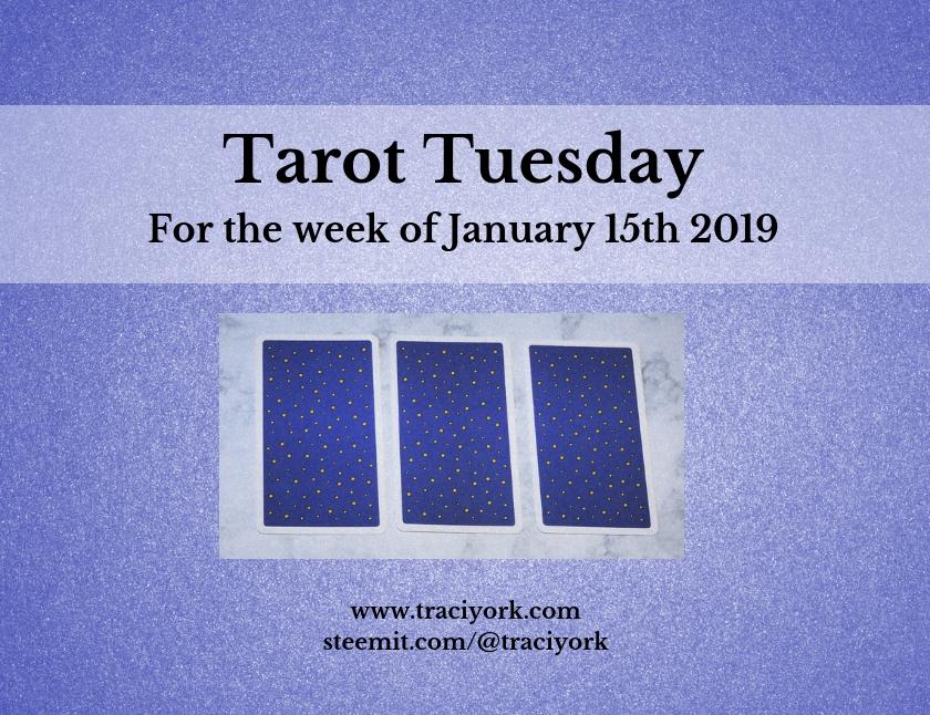 January 15 2019 Tarot Tuesday new years colors blog thumbnail