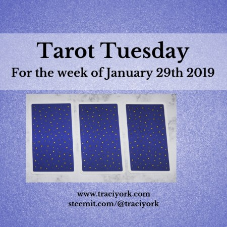 January 29 2019 Tarot Tuesday new years colors blog thumbnail