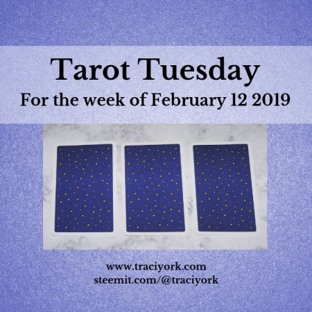 February 12 2019 Tarot Tuesday new years colors blog thumbnail