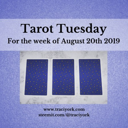 August 20th 2019 Back Tarot Tuesday thumbnail