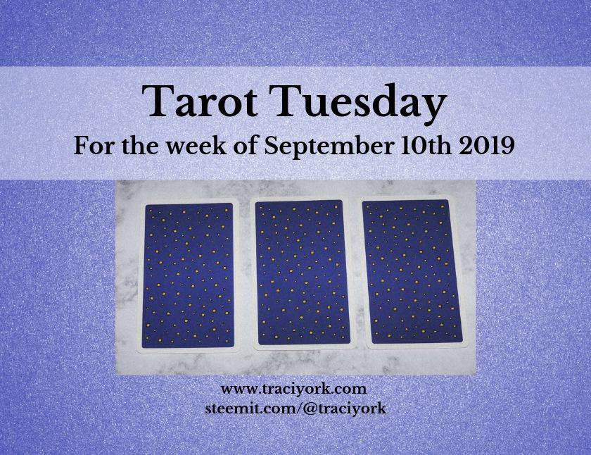 September 10th Tarot Tuesday thumbnail
