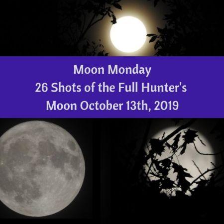 Moon Monday 26 Shots of the Full Hunter's Moon, October 13th, 2019 blog thumbnail