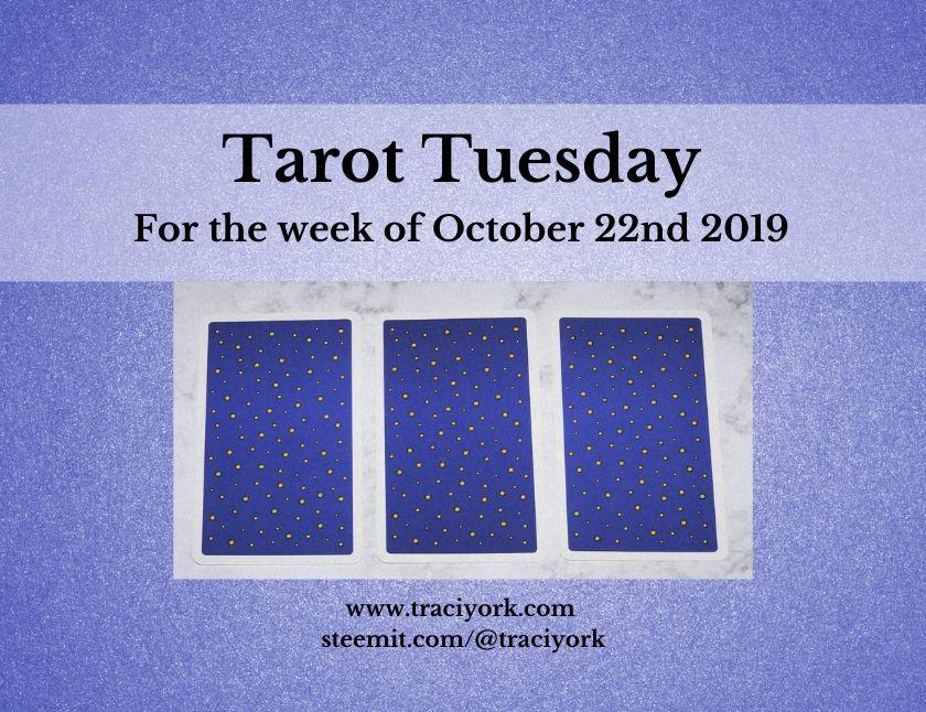 October 22nd Tarot Tuesday thumbnail