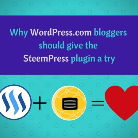 Why WordPress.com bloggers should give the SteemPress plugin a try blog thumbnail