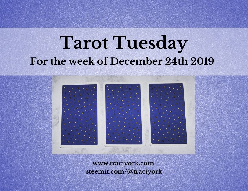 December 24th 2019 Tarot Tuesday thumbnail