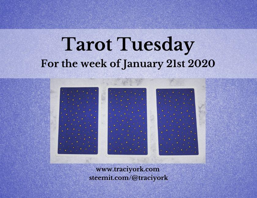 January 21st 2020, Tarot Tuesday thumbnail