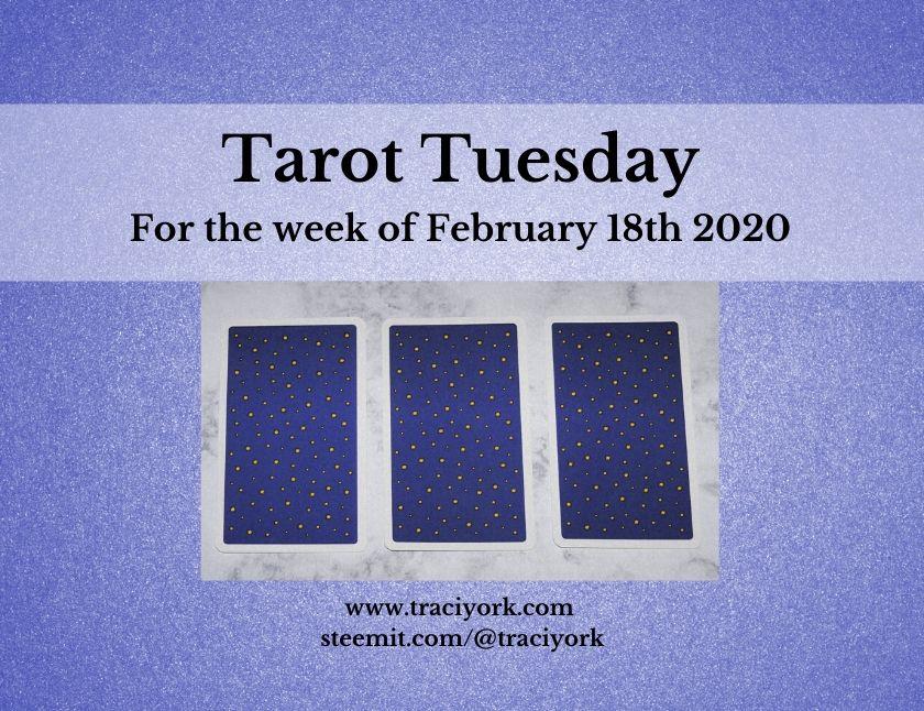 February 18th 2020, Tarot Tuesday thumbnail