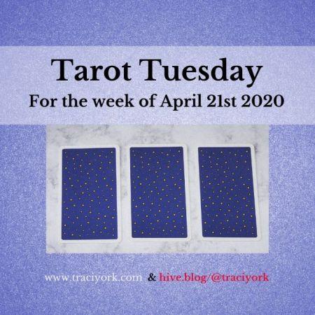 April 21st 2020, Tarot Tuesday thumbnail