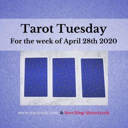 April 28th 2020, Tarot Tuesday thumbnail