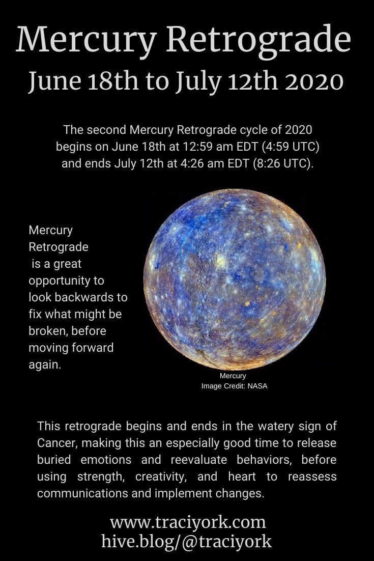 Mercury Retrograde June 2020
