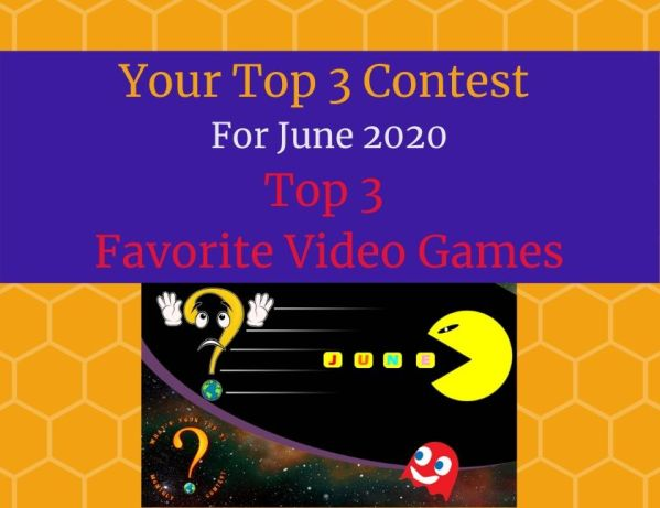 Top 3 Favorite Video Games blog thumbnail