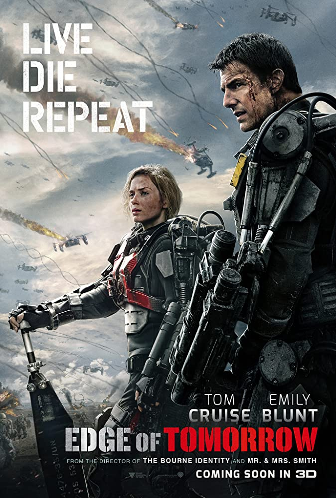 Edge of Tomorrow Favorite End of the World Movies