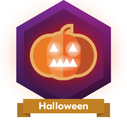 HiveBuzz HiveBuzz badge for Halloween 2020