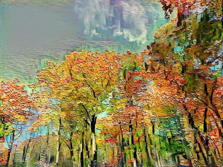 Deep Dream Fall Foliage Fotos