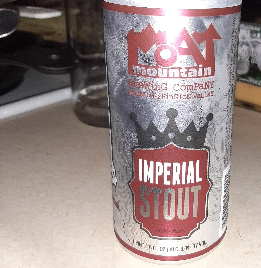 the #BeerSaturday challenge moutain mout imperial stout