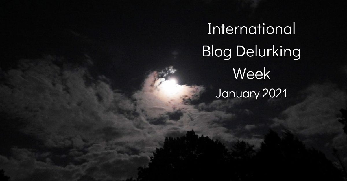 International Blog Delurking Week – 2021 blog thumbnail