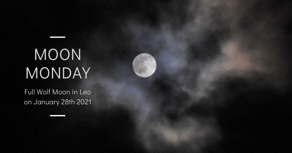Full Wolf Moon in Leo on January 28th 2021 blog thumbnail