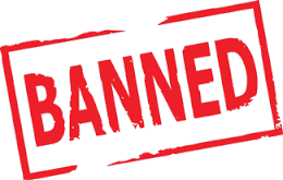 list of banned channels in india