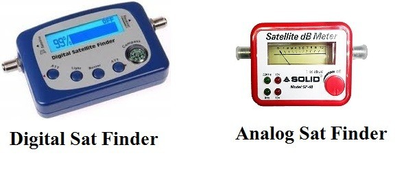 Know the difference between Satellite Finder and Satellite