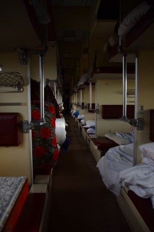 Beds in the transsib