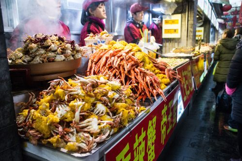 Sea food in Beijing