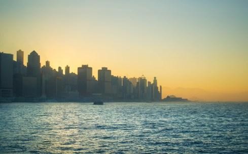Sunset in HK