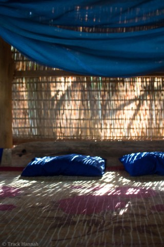 On Koh Ta Kiev, we practically slept outside. The wind and the sounds of nature coming through our hut