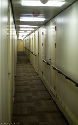 1st and 2nd class hallway